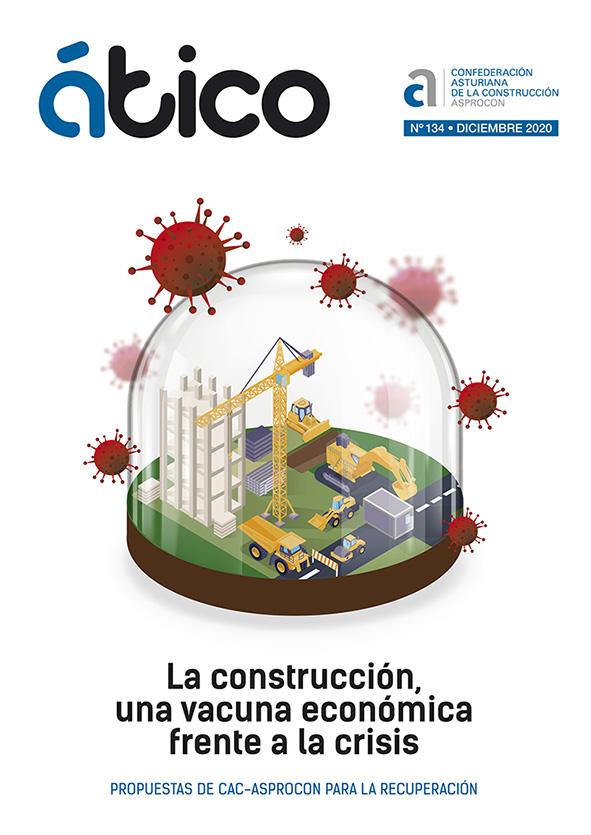 Revista Ático. La construcción se suma al objetivo de la descarbonización y la economía circular