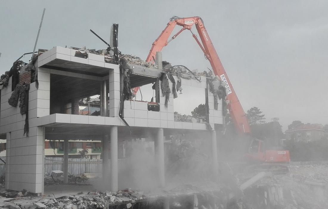demolición excade